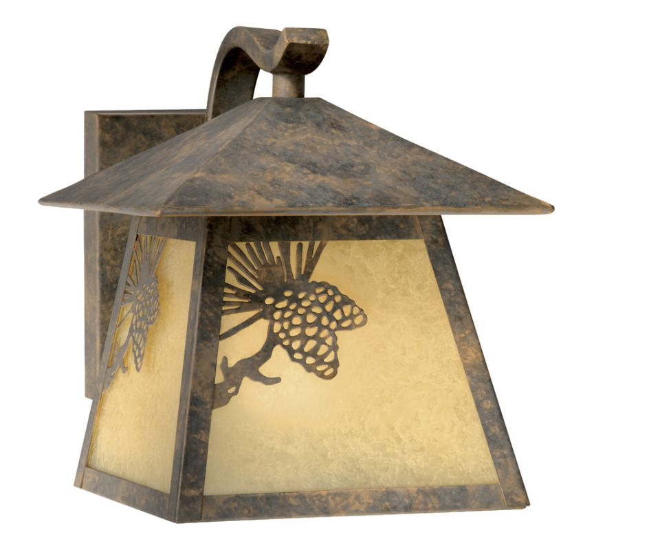 Vaxcel Lighting OW50573 Whitebark 1 Light Outdoor Wall Sconce - 8