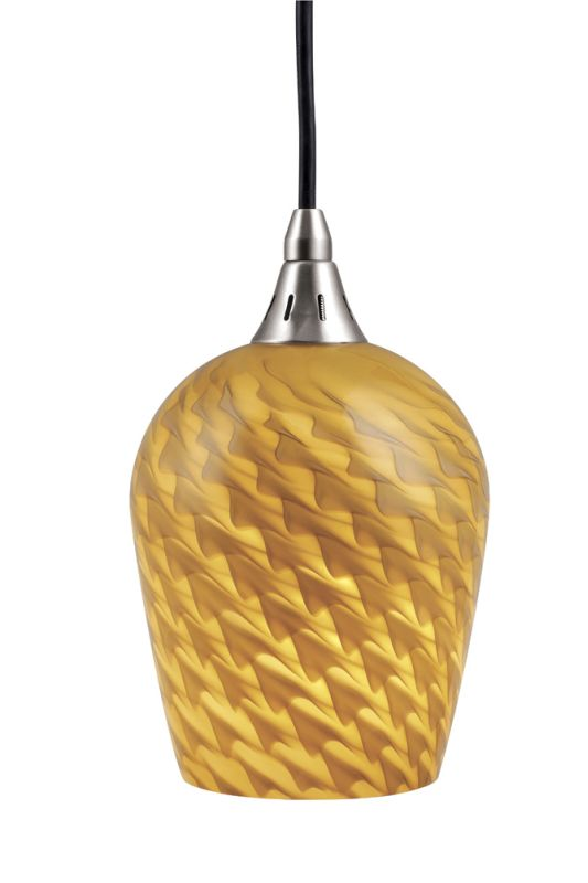 Vaxcel Lighting PD30139SN Satin Nickel Contemporary Milano Pendant