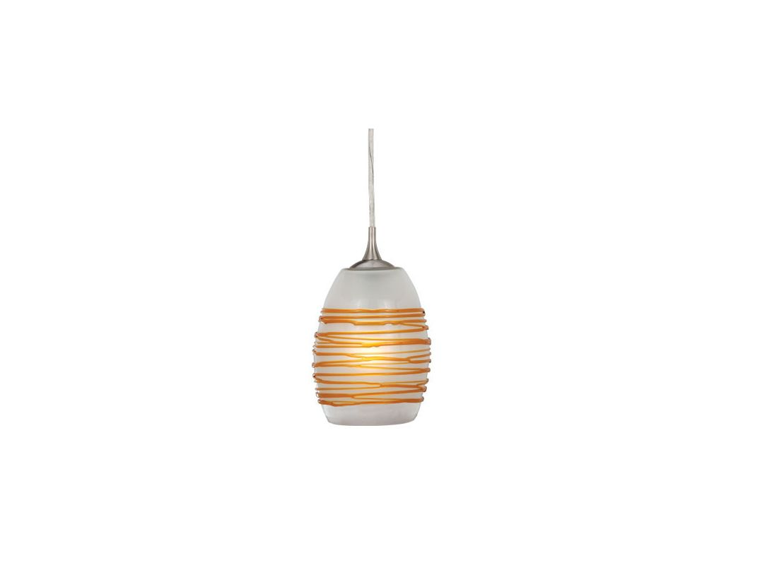 Vaxcel Lighting PD30151SN Satin Nickel Contemporary Milano Pendant