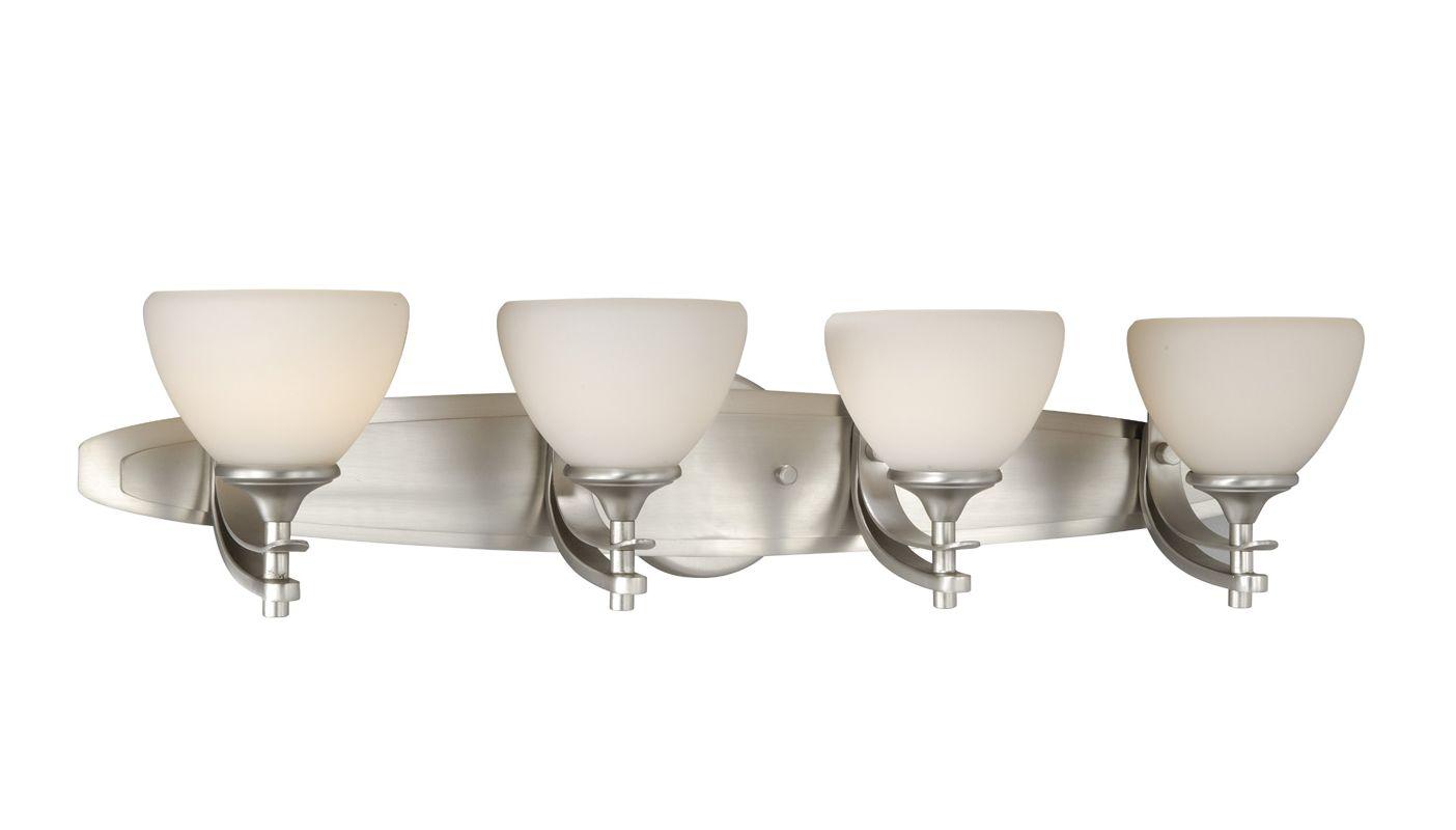 Vaxcel Lighting SE-VLU004 Sebring 4 Light Bathroom Vanity Light - 9 Sale $244.00 ITEM: bci918156 ID#:SE-VLU004BN UPC: 884656609486 :