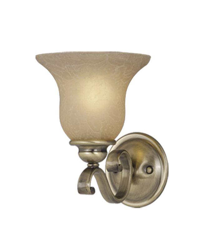 Vaxcel Lighting VL35401 Monrovia 1 Light Bathroom Sconce - 8 Inches Sale $42.28 ITEM: bci918245 ID#:VL35401A/C UPC: 884656610291 :