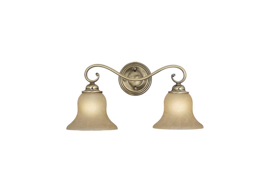 Vaxcel Lighting VL35472 Monrovia 2 Light Bathroom Vanity Light - 12.63