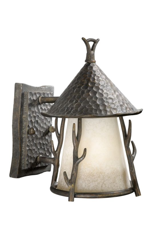 Vaxcel Lighting WD-OWD070 Woodland 1 Light Outdoor Wall Sconce - 8 Sale $186.00 ITEM: bci918314 ID#:WD-OWD070AA :