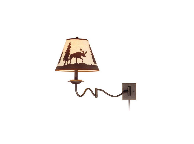Vaxcel Lighting WL55612 Yellowstone 1 Light Swing Arm Wall Sconce