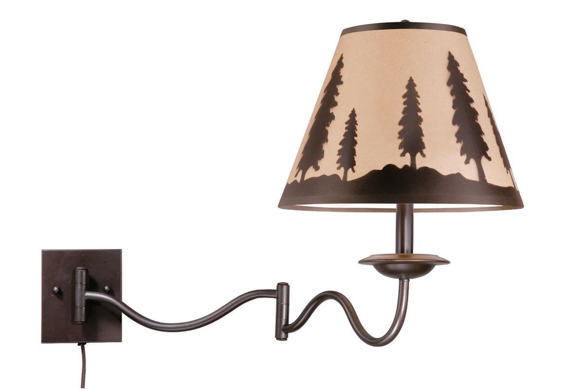 Vaxcel Lighting WL55512 Yosemite 1 Light Swing Arm Wall Sconce Sale $147.00 ITEM: bci1275277 ID#:WL55512BBZ UPC: 884656611762 :