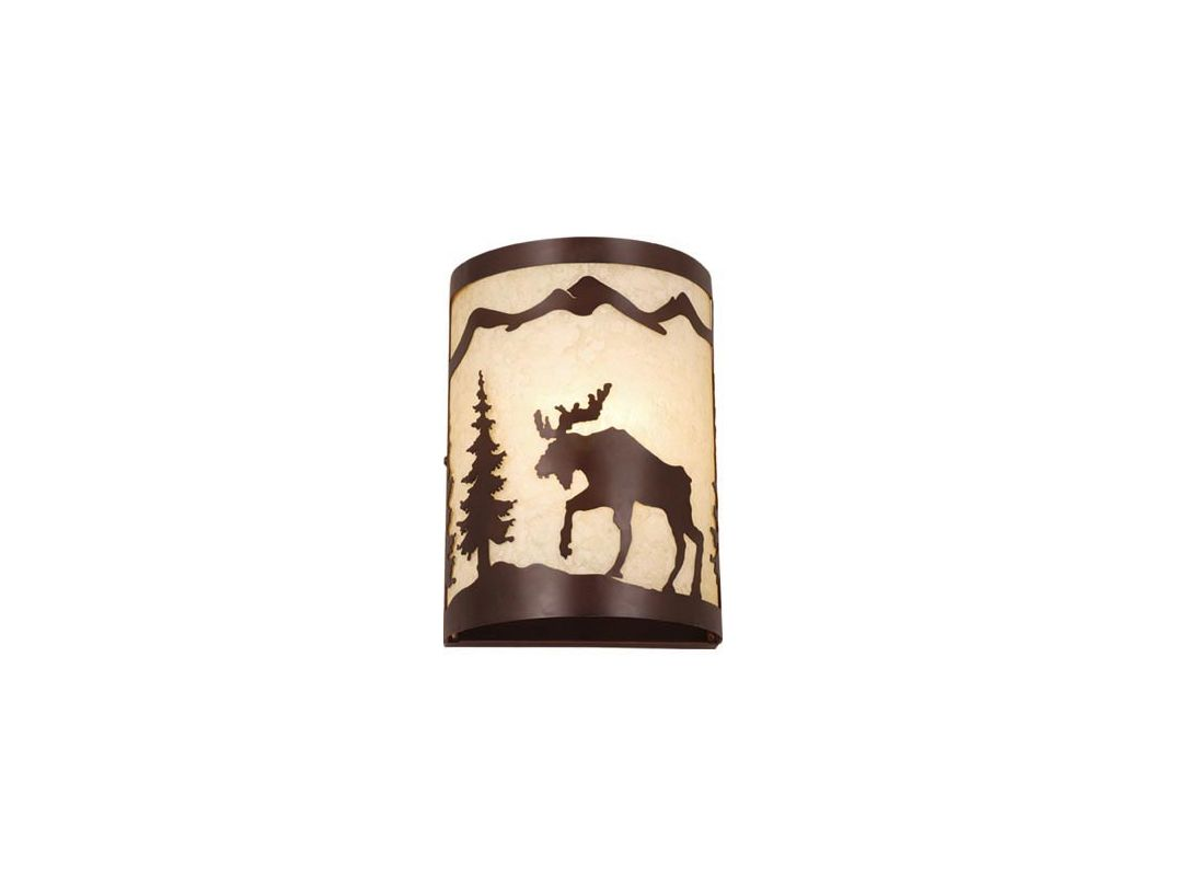 Vaxcel Lighting WS55608 Yellowstone 1 Light Wall Washer Burnished