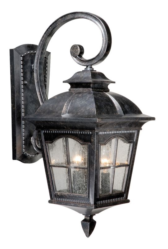 Vaxcel Lighting AD-OWU090 Arcadia 2 Light Outdoor Wall Sconce - 9