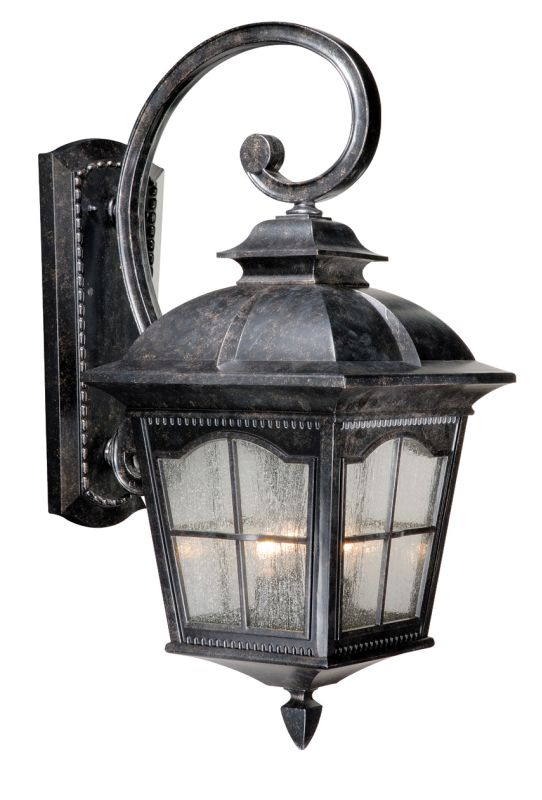 Vaxcel Lighting AD-OWU110 Arcadia 3 Light Outdoor Wall Sconce - 11