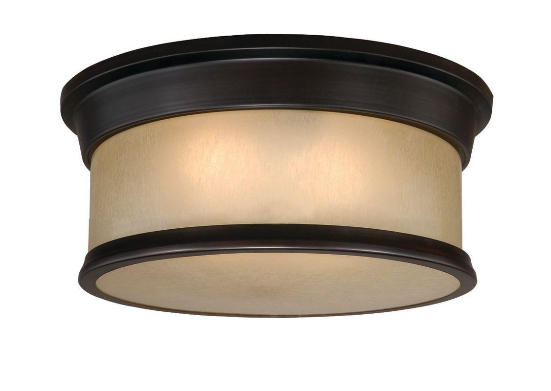 Vaxcel Lighting CC54714 Carlisle 2 Light Flush Mount Indoor Ceiling