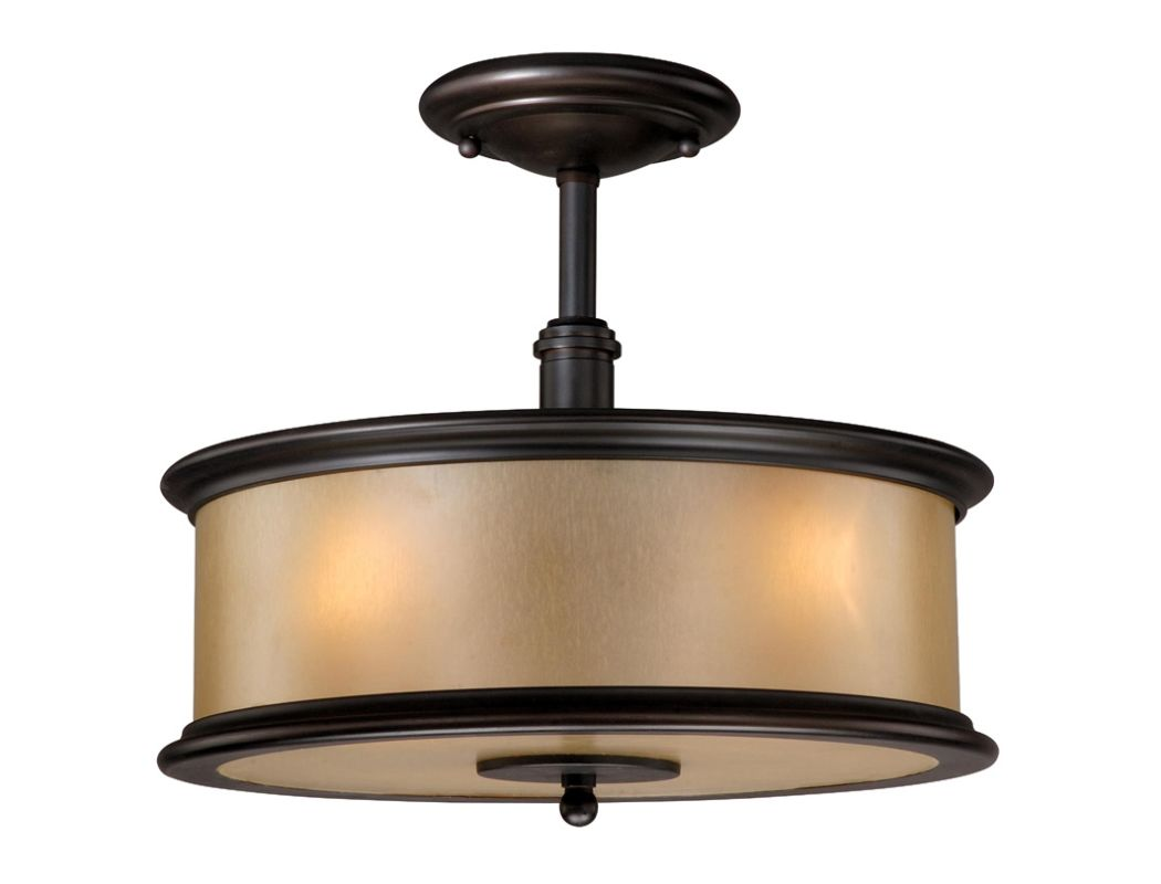 Vaxcel Lighting CR-CFU130 Carlisle 3 Light Semi-Flush Indoor Ceiling Sale $178.00 ITEM: bci1572685 ID#:CR-CFU130NB UPC: 884656692112 :