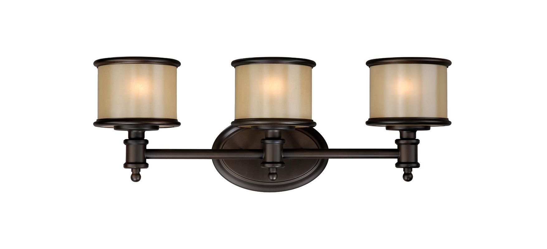 Vaxcel Lighting CR-VLU003 Carlisle 3 Light Bathroom Vanity Light - 22