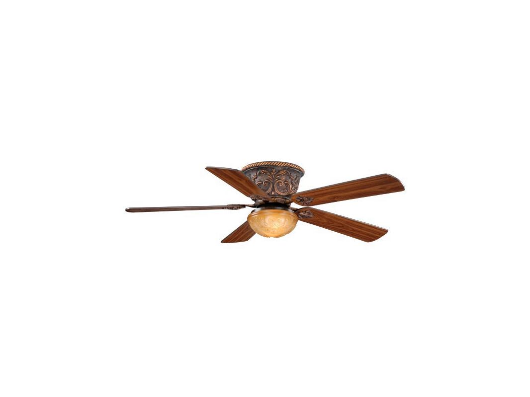 "Vaxcel Lighting FN52317 Corazon 52"" 5 Blade Indoor Ceiling Fan - Light"