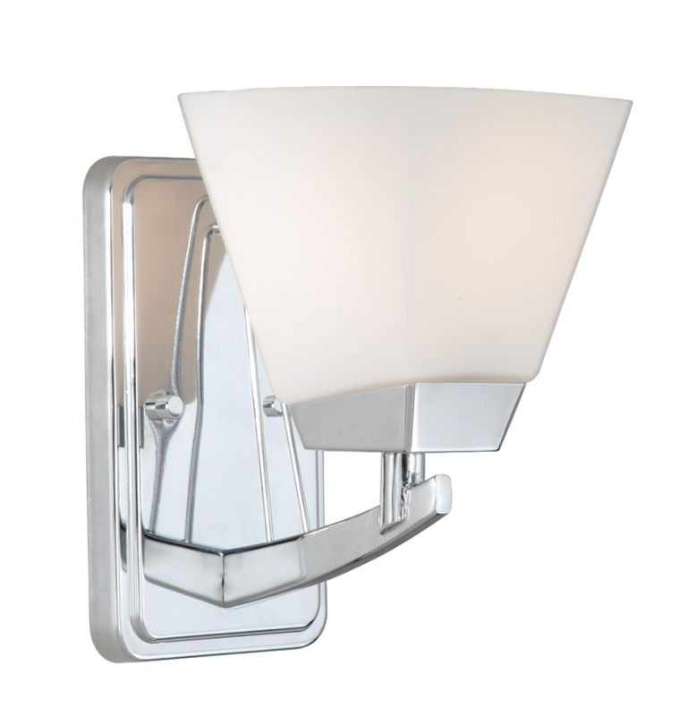 Vaxcel Lighting KD-VLU001 Kendall 1 Light Bathroom Sconce - 5 Inches Sale $48.21 ITEM: bci1572710 ID#:KD-VLU001CH UPC: 884656691962 :