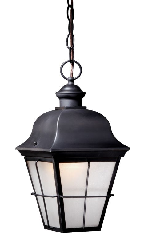 Vaxcel Lighting NH-ODD080 New Haven 1 Light Outdoor Pendant Oil Rubbed