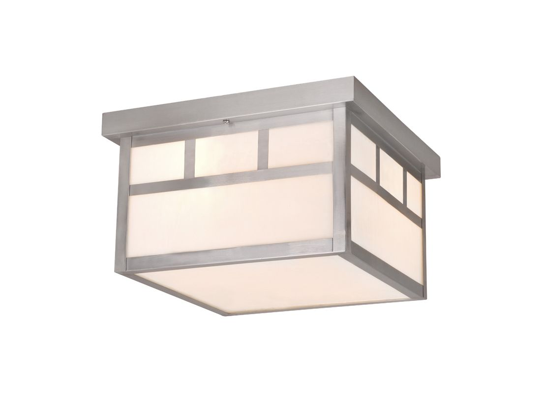 Vaxcel Lighting OF14611 Mission 2 Light Flush Mount Outdoor Ceiling