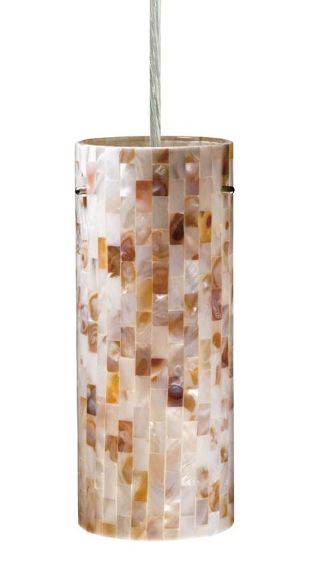 Vaxcel Lighting PD53204SN Mosaic Shell Contemporary Milano Pendant Sale $118.00 ITEM: bci1572766 ID#:PD53204SN UPC: 884656900521 :