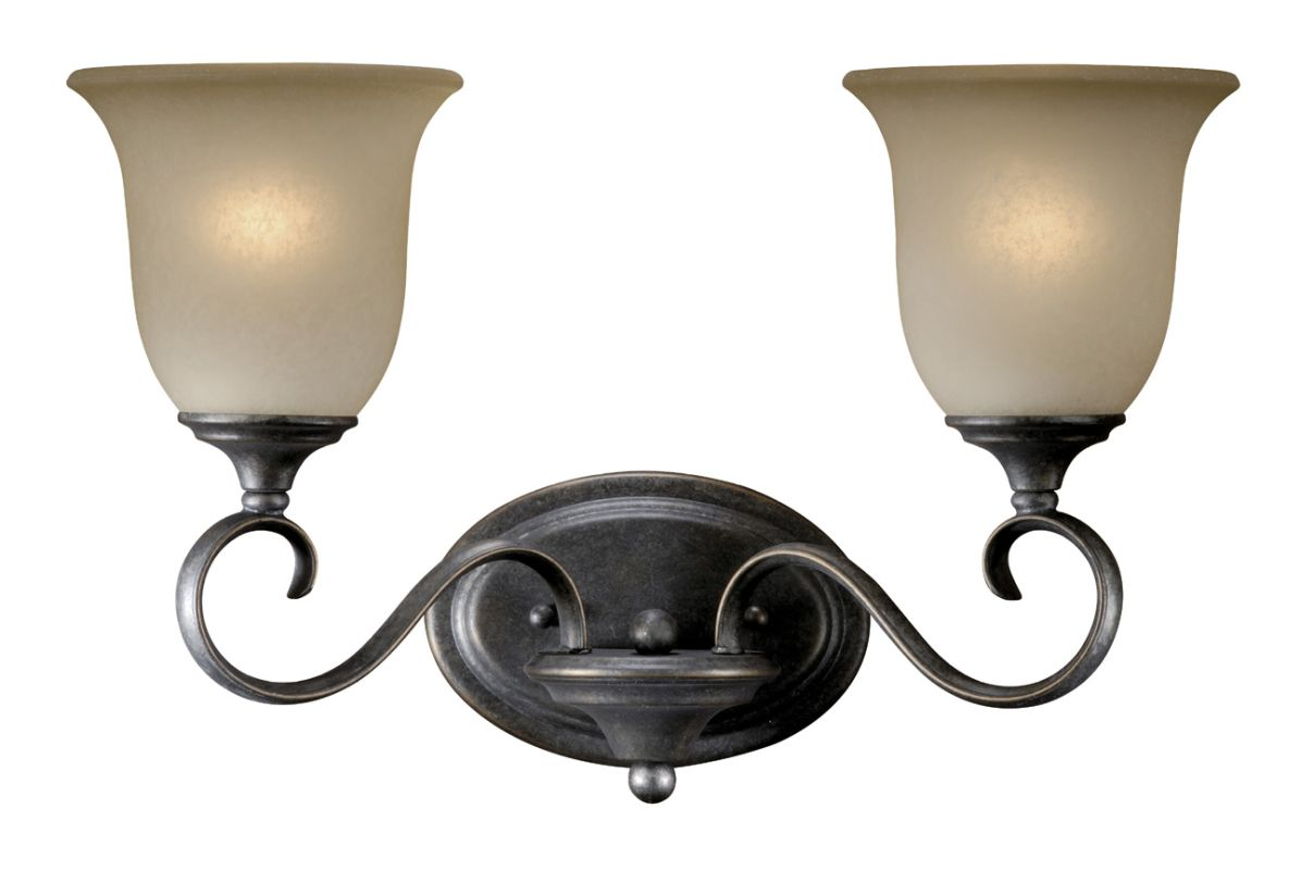 Vanity Lights For Rv : Vaxcel Lighting RV-VLU002VT Vintage Patina Riviera 2 Light Bathroom Vanity Light - 17 Inches ...