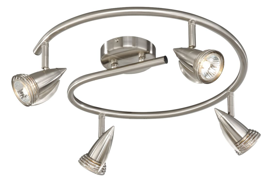 Vaxcel Lighting SP34118 Garda 4 Light 50 Watt Each Spiral Halogen Sale $134.00 ITEM: bci918162 ID#:SP34118SN UPC: 884656730043 :