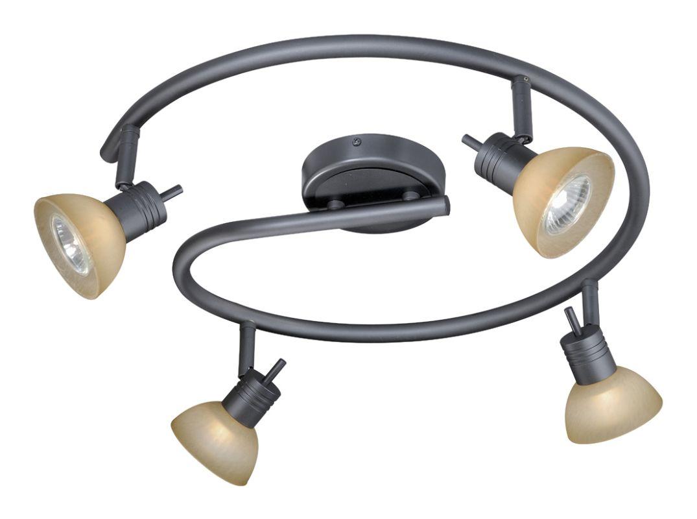 Vaxcel Lighting SP53518 Como 4 Light 50 Watt Each Spiral Halogen