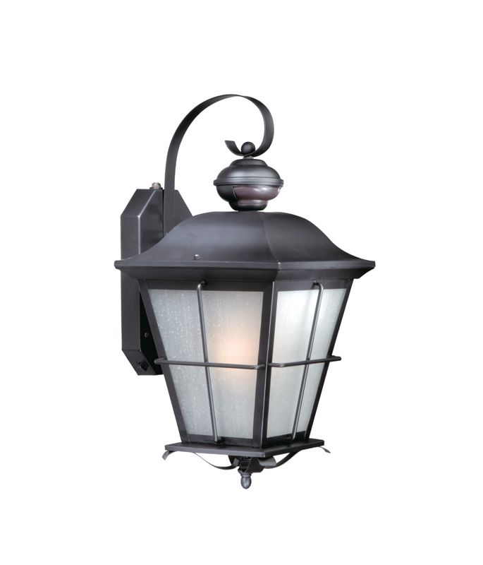 Vaxcel Lighting SR53131 New Haven Dualux� 1 Light Outdoor Wall Sconce