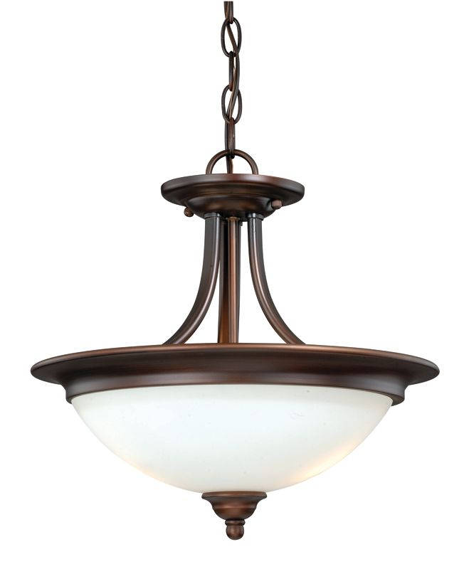 "Vaxcel Lighting C0031 Lorimer 2 Light 15"" Wide Semi-Flush Indoor"