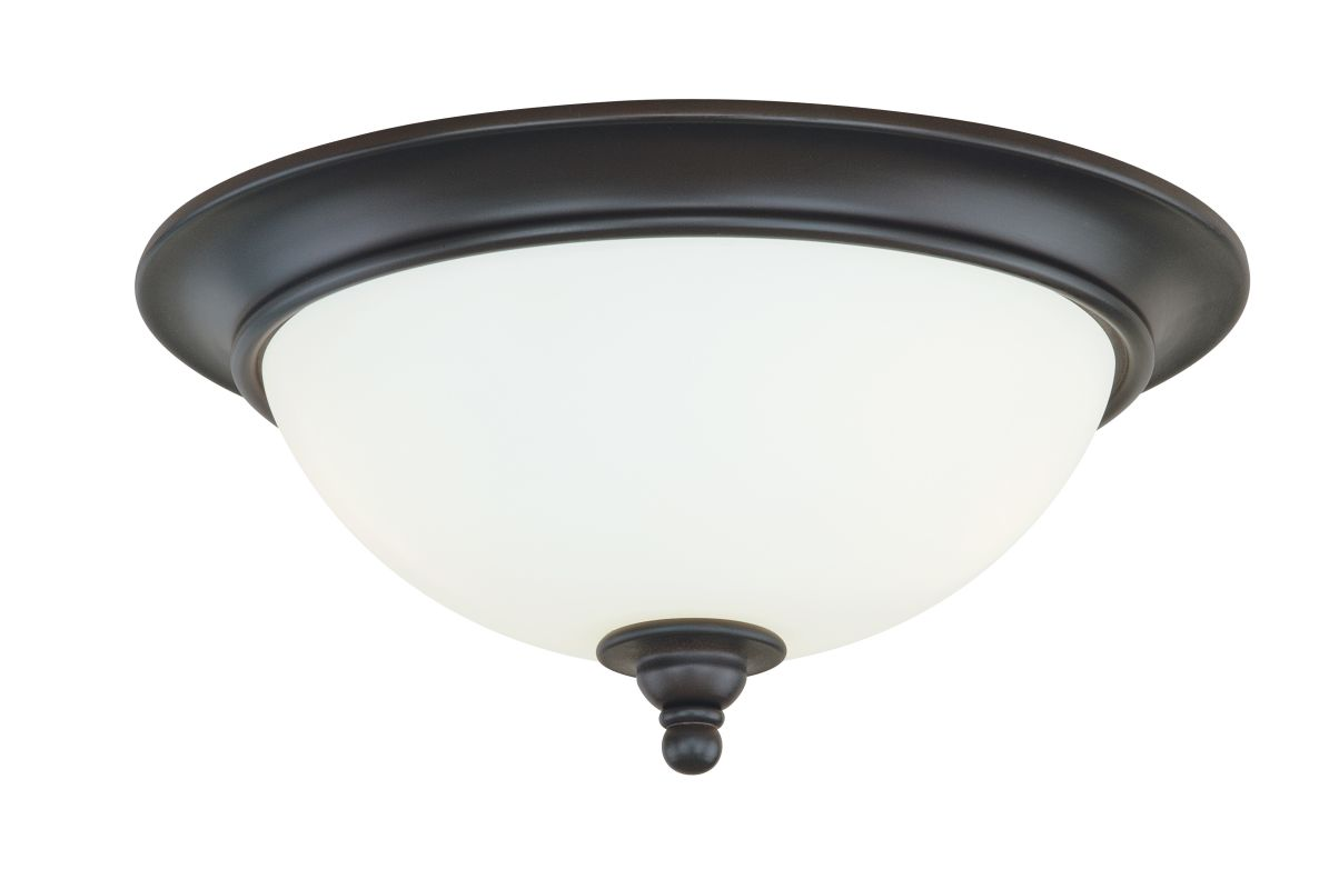 Vaxcel Lighting C0051 Darby 2 Light Flush Mount Indoor Ceiling Fixture