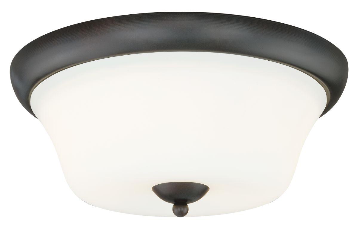Vaxcel Lighting C0064 Poirot 2 Light Flush Mount Indoor Ceiling