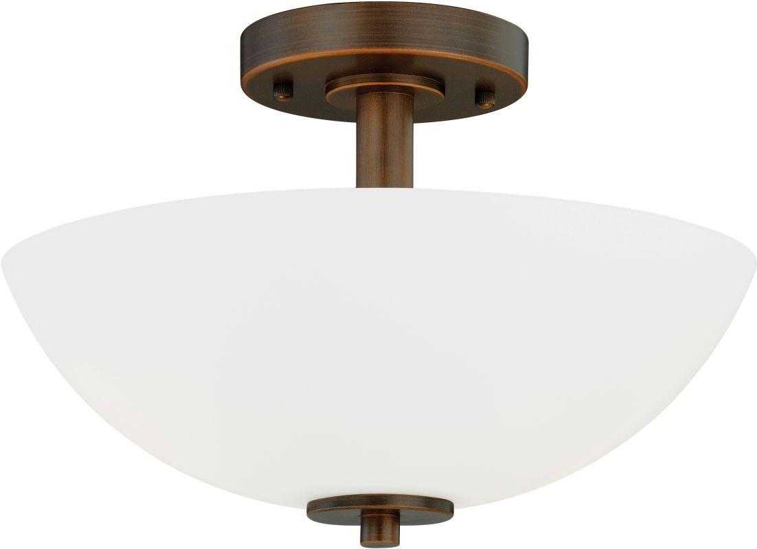 Vaxcel Lighting C0073 Glendale 2 Light Semi-Flush Indoor Ceiling