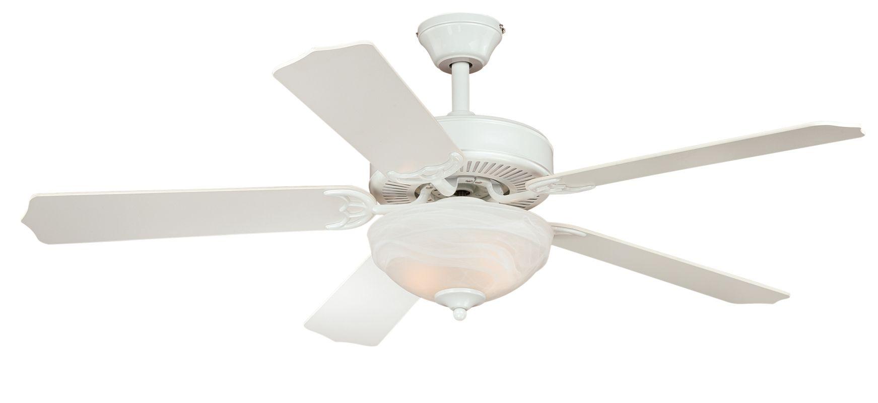 """Vaxcel Lighting F0025 Essentia 52"""" 5 Blade Indoor Ceiling Fan - Light"""
