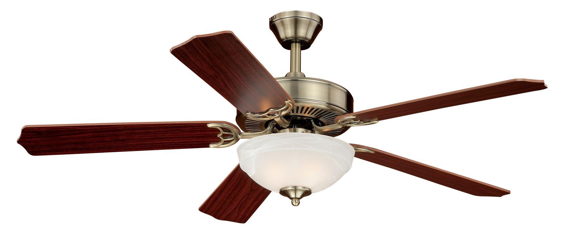 """Vaxcel Lighting F0026 Essentia 52"""" 5 Blade Indoor Ceiling Fan - Light"""