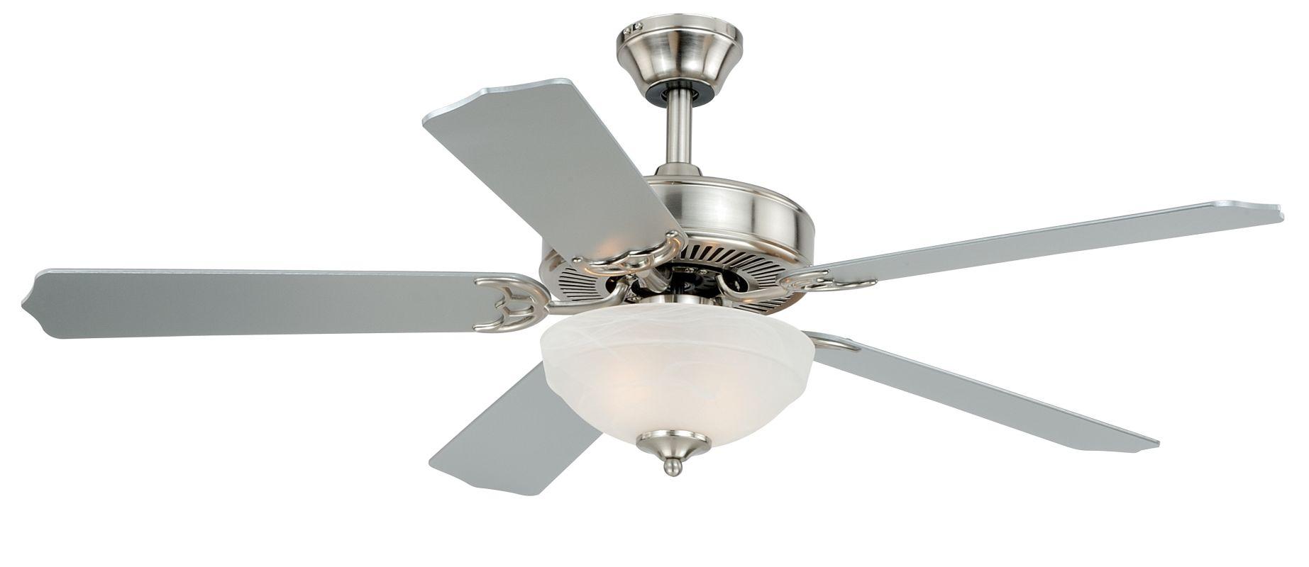 """Vaxcel Lighting F0027 Essentia 52"""" 5 Blade Indoor Ceiling Fan - Light"""