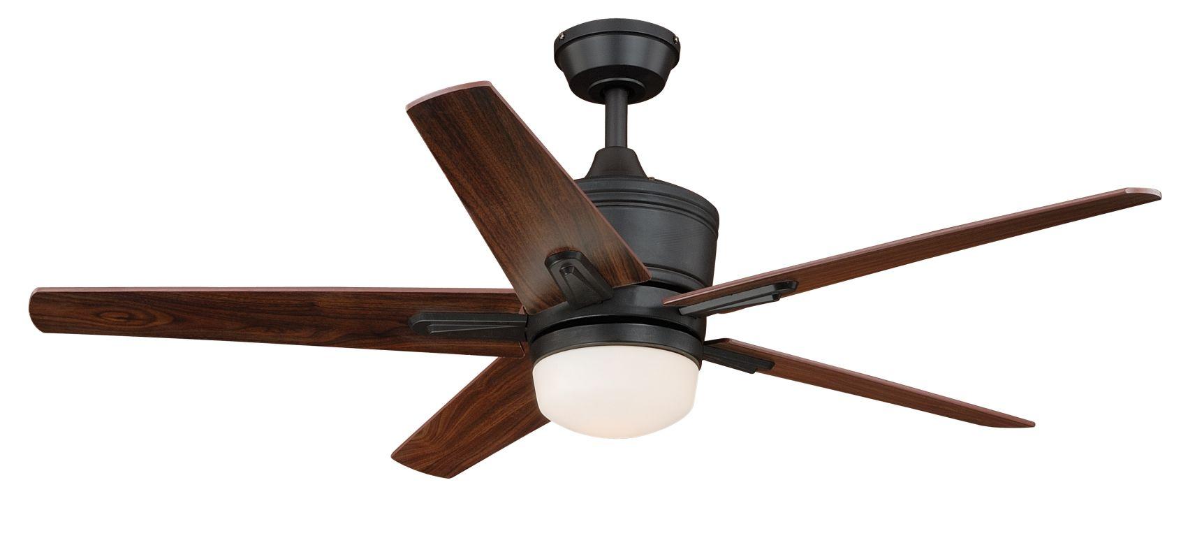 "Vaxcel Lighting F0028 Argus 52"" 5 Blade Indoor Ceiling Fan - Light Kit"
