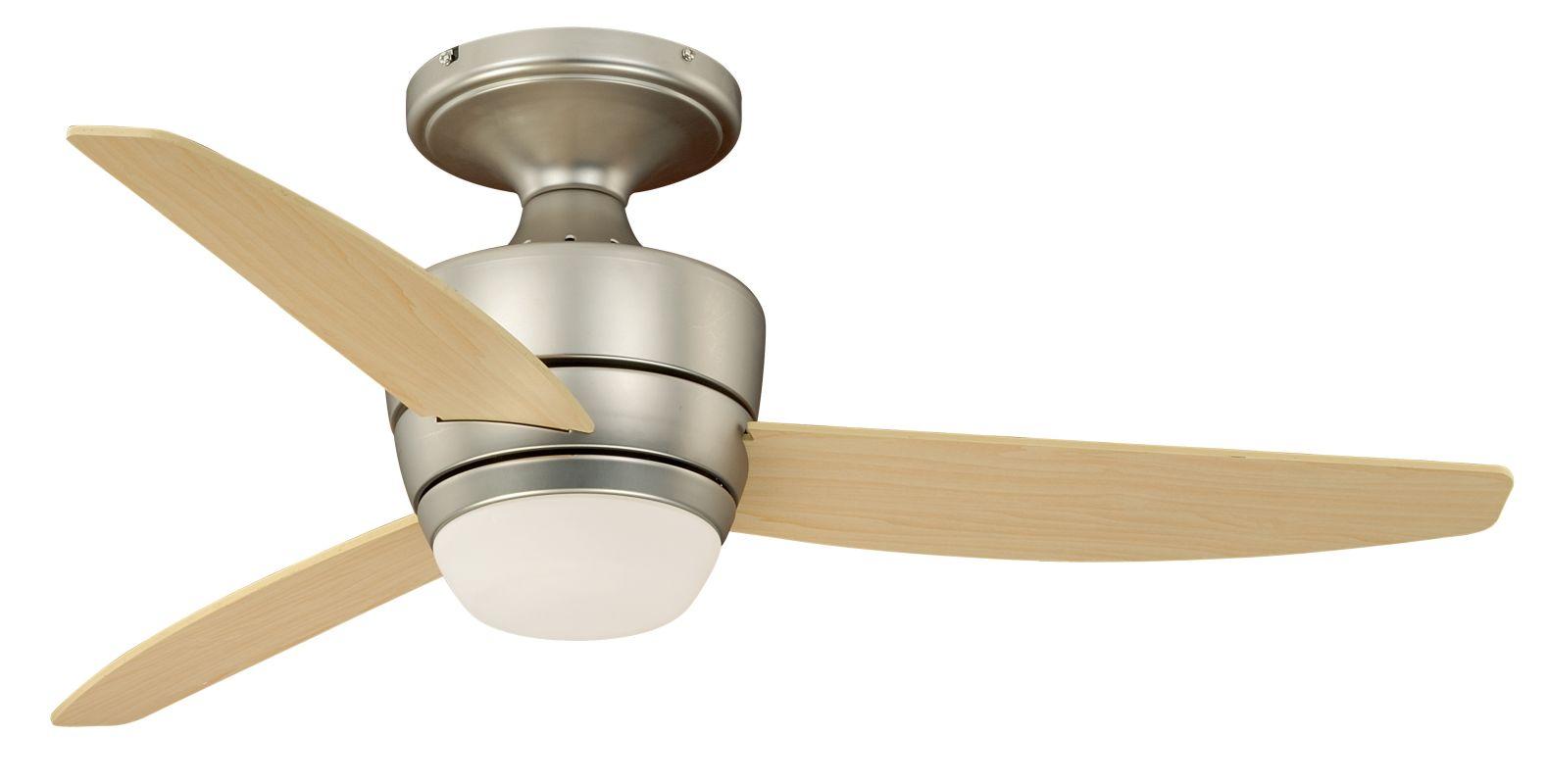 "Vaxcel Lighting F0032 Adrian 44"" 3 Blade Indoor Ceiling Fan - Light"