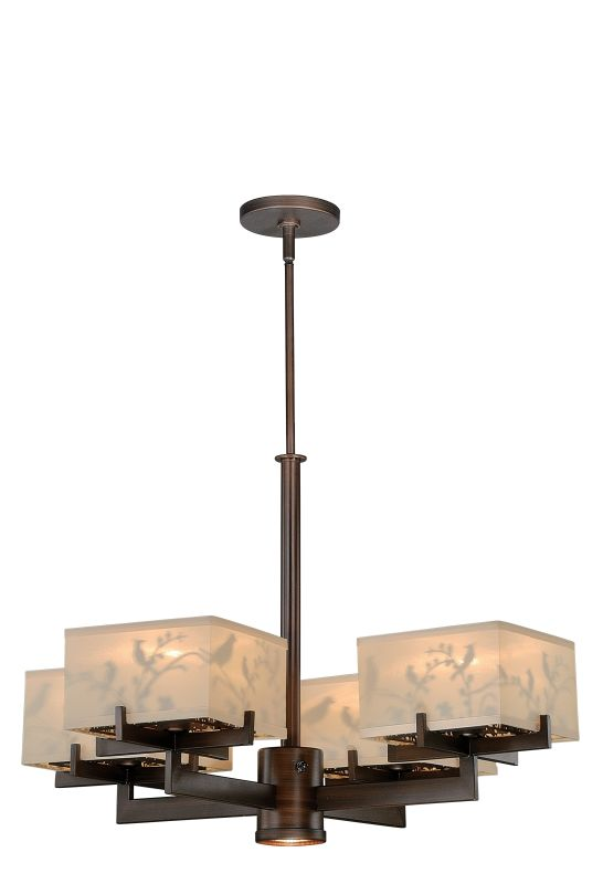 Vaxcel Lighting H0041 Aviary 5 Light Single Tier Chandelier with