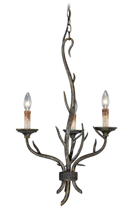 Vaxcel Lighting H0071 Monterey 3 Light Single Tier Chandelier - 18