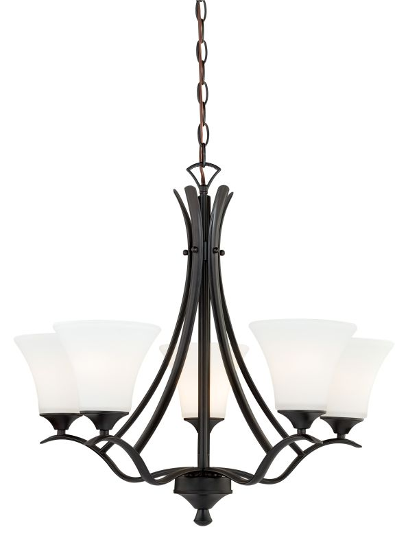 Vaxcel Lighting H0095 Cordoba 5 Light Single Tier Chandelier with Sale $173.00 ITEM: bci2368845 ID#:H0095 UPC: 884656730425 :