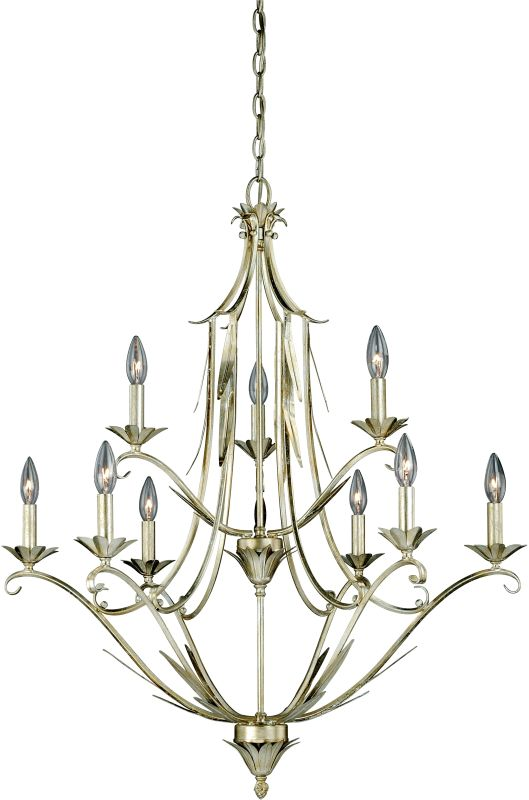 Vaxcel Lighting H0112 Austen 9 Light Two Tier Chandelier - 31 Inches Sale $153.00 ITEM: bci2587787 ID#:H0112 UPC: 884656731408 :