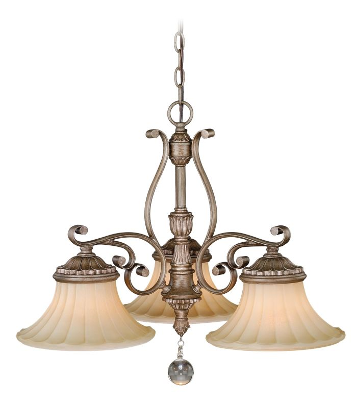 Vaxcel Lighting H0140 Avenant 3 Light Single Tier Chandelier with Sale $350.00 ITEM: bci2628449 ID#:H0140 UPC: 884656732962 :