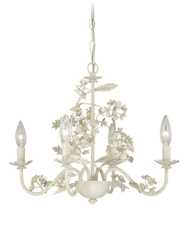 Vaxcel Lighting H0144 Leilani 4 Light Single Tier Chandelier - 19 Sale $250.00 ITEM: bci2628453 ID#:H0144 UPC: 884656733235 :