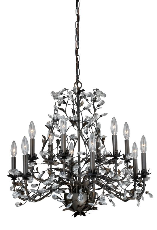 Vaxcel Lighting H0147 Trellis 12 Light Two Tier Chandelier - 26.75 Sale $850.00 ITEM: bci2628456 ID#:H0147 UPC: 884656734232 :