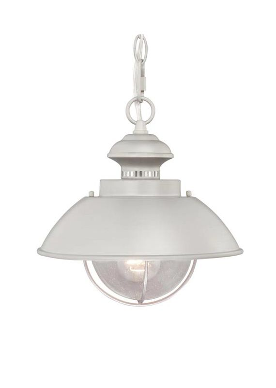 Vaxcel Lighting OD21518BN Harwich 1 Light Outdoor Pendant Brushed