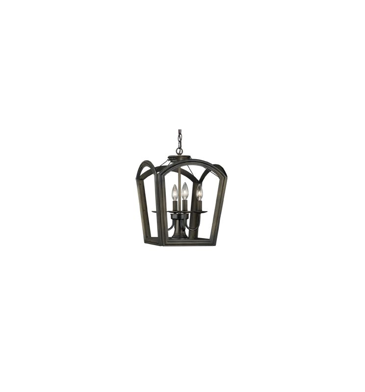 Vaxcel Lighting P0032 Canterbury 4 Light Pendant Oil Rubbed Bronze