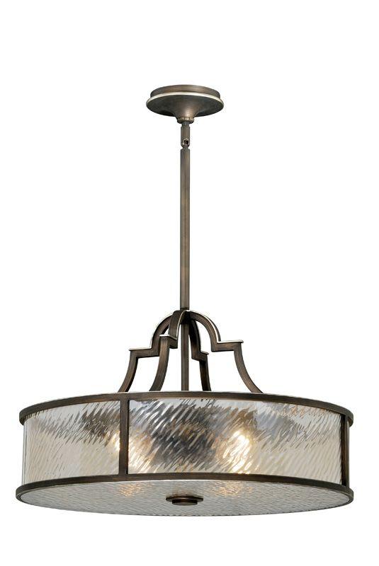 Vaxcel Lighting P0040 Simone 4 Light Pendant Venetian Bronze Indoor