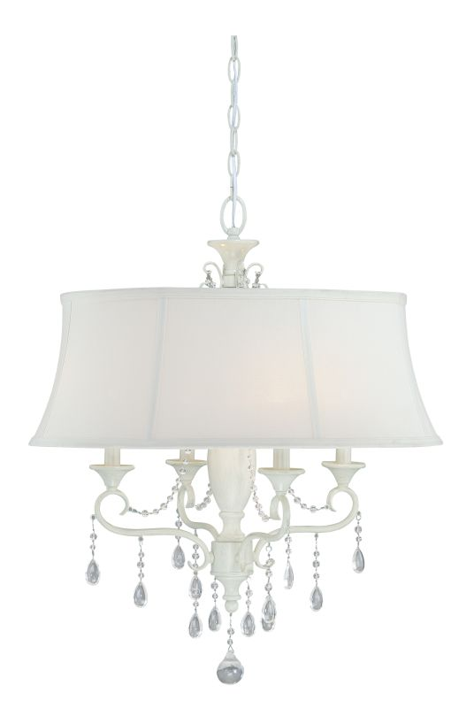 Vaxcel Lighting P0048 Bristol 4 Light Single Tier Chandelier with