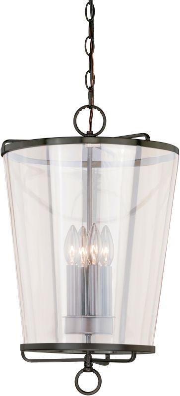Vaxcel Lighting P0116 630 Series 4 Light Full Sized Pendant Noble