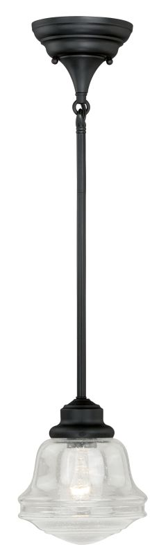 Vaxcel Lighting P0153 Huntley 1 Light Single Pendant Oil Rubbed Bronze