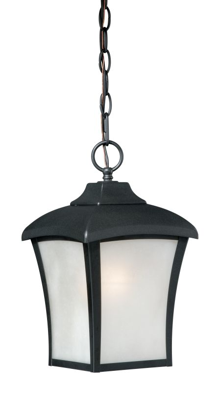 Vaxcel Lighting T0001 Boardwalk 1 Light Pendant Oil Rubbed Bronze