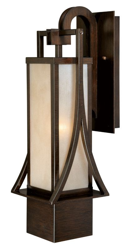 Vaxcel Lighting T0043 Osaka 1 Light Outdoor Wall Sconce - 9 Inches
