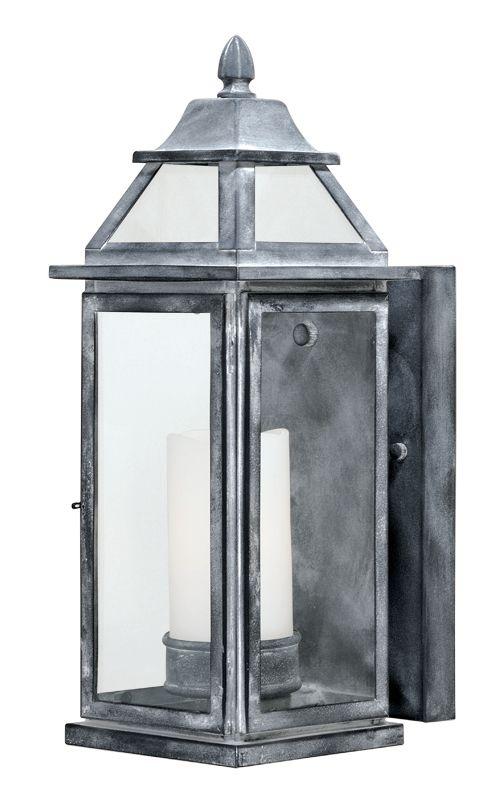 Vaxcel Lighting T0058 Lockport 1 Light Outdoor Wall Sconce - 6.75