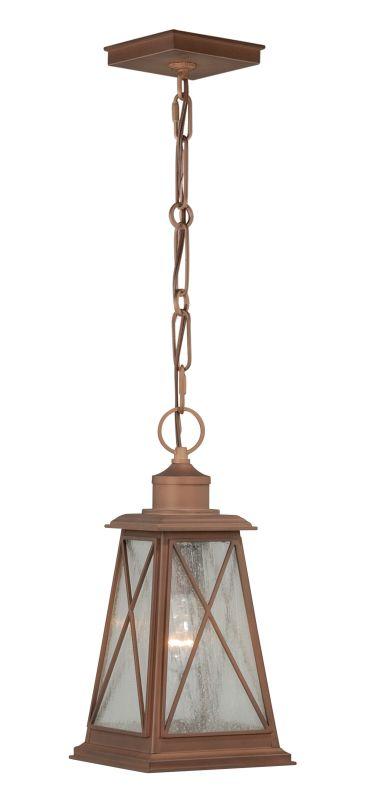 Vaxcel Lighting T0064 Mackinac 1 Light Outdoor Lantern Pendant Antique